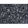 Seedbead 2/0 Crystal Black Shiny Terra Color